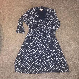 Liz Claiborne XL navy dress
